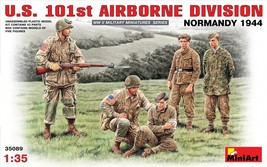 Miniart Models - 35089 - U.S. 101st Airborne Division Normandy 1944 - 1/35 - $16.99