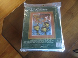 REFLECTIONS ON AN OCTOBER AFTERNOON Elsa Willliams NEEDLEPOINT Sealed Ki... - $19.80