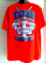 TEXAS Rangers T shirt  Armed and Dangerous XL 2010-2011 Back-to Back Cha... - $21.66