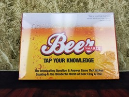 New Sealed Beer Smarts:Tap Your Knowledge Question/Answer Card Trivia Ga... - $6.49