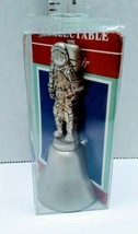 Fort USA Great American Collectors Astronaut Handle Bell Pewter  NOS - $12.86