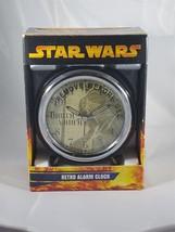 Star Wars Darth Vader Retro Alarm Clock NIP - $6.79