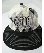 New York NY City White Black Fitted S Adult Baseball Ball Cap Hat - $12.86