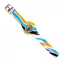 JoyJoy! Rainbow Zebra Interchangeable Silicone Watch JJ-4052W - $33.61