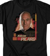 Star Trek The Next Generation Capt Jean-Luc Picard graphic t-shirt CBS615 image 3