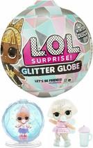 L.O.L. Surprise Glitter Globe Doll Winter Disco Series Glitter Hair 8 Surprises - $21.85