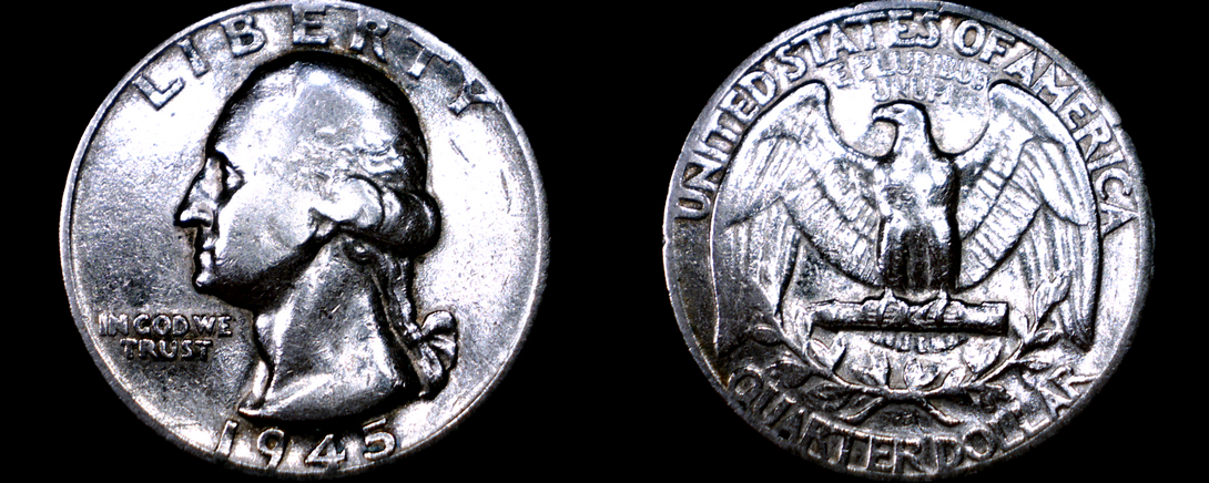 Primary image for 1945-P Washington Quarter Silver