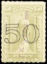 R189, Lightly Cancelled $50 Documentary Revenue Stamp Cat $575.00 - Stua... - $400.00