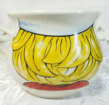 "Large Campbell's Kid Face Soup Mug Soup Mug Bowl Vintage 1998 4"" x 6.5"" x 5 1/4"" image 3"