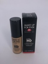 MAKE UP FOR EVER MUFE Ultra HD Invisible Cover Foundation Y335 .16 Oz Tr... - $11.87