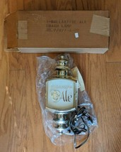 Ballantine Ale Lighted Wall Sconce Coach Lamp Beer Sign - NEW - $84.14