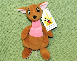 "DISNEY WORLD 7"" KANGA WINNIE THE POOH BEANBAG TOY PLUSH WITH TAG STUFFED... - $21.04"