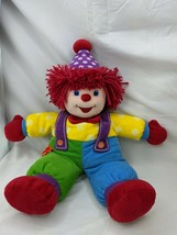 "Gymboree Clown Doll Plush 18"" 2005 Stuffed Animal Toy - $19.95"