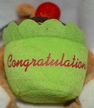 Beverly Hills Brand Playfully Elegant Brown Color Congratulations Cupcake Bear image 5