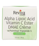 Reviva Labs - Alpha Lipoic Acid Vitamin C Ester and DMAE Cream - 2 oz - $27.99