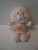 "Care Bear Pink 12 "" Plush Baby Hugs Cub Bear Kenner 1983 - $9.89"