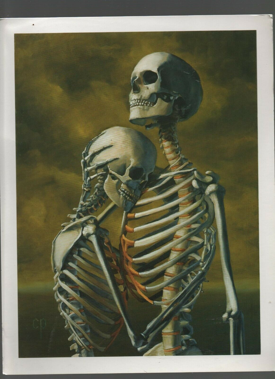 """To Hold You Again"" - Christ Peters New Paintings - Last Rites Gallery Print."