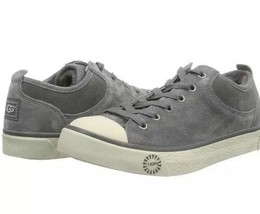 UGG Australia Women's EVERA Suede Sneakers PEWTER  Sz 12 Women's NIB - $95.00