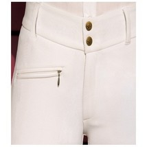 Devon-Aire Ladies All Pro Full Seat Breeches Size 24 Long Black Charcoal image 1