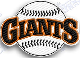 SAN FRANCISCO GIANTS  iron on embroidered embroidery patch baseball  logo mlb - $10.95