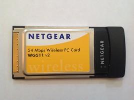 Netgear 54 Mbps Wireless PC Card WG511 v2 - $7.91