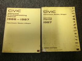 1987 Honda Civic Riparazione Servizio Negozio Officina Manuale Set W Cav... - $108.84