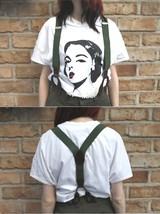 New Unissued Czech army suspenders braces communist Soviet Era y strap b... - $5.00+