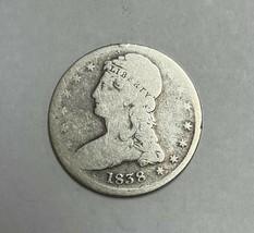 1838 Capped Bust Silver Half Dollar Good - $119.85