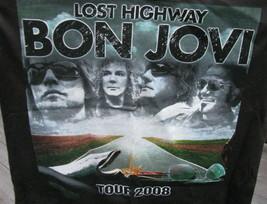 T-Shirt Concert Bon Jovi Tour 2008 Lost Highway Daughtry - $39.95