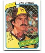 1980 Topps #352 Dan Briggs NM-MT Padres - $0.40