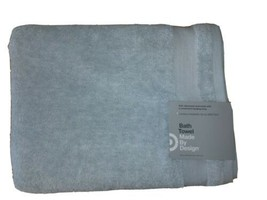 "Solid Bath Towel - Made By Design- 30"" x 54""- Aqua Blue"