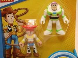 Imaginext - Toy Story 4 - Disney Pixar - Buzz Lightyear & Jessie Figures - $12.82