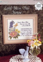 Lord Bless This House Sampler NEW TNS Cross Stitch Pattern Leaflet - $2.67