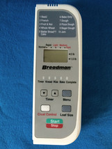 Breadman Bread Machine TR800 CONTROL PANEL part - $24.74