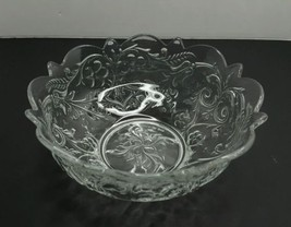 EAPG MCKEE ROCK CRYSTAL FINE QUALITY FLARED BOWL 7 3/4D RARE circa 1904 - $43.51