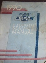 1990 Chevrolet Chevy S-10 S10 Camion Servizio Shop Officina Riparazione ... - $9.89