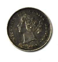 1893 Canada 5c Five Cents Rare KM# 2 Half Dime Rare - $49.49