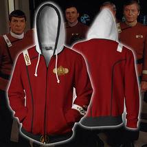 Star Trek II: The Wrath of Khan hoodie Sweatshirt Cosplay Costume zip up... - $21.99