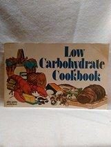 Low Carbohydrate Cookbook Lindeman, Joanne Waring - $3.71