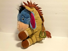 The Disney Store Winnie the Pooh Plush Eeyore In Western Horse costume S... - $14.89