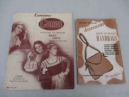 Handbags Purse Hat How to Make Diy Sew Crochet Fashion Craft Women Acces... - $31.76