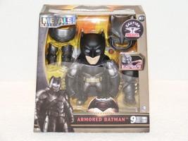 Nip 2016 Dc Comics Armored Batman Metal Die Cast Action Figures 9 Part Piece Set - $29.99