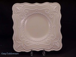"LENOX ""BUTTLERS PANTRY"" PATISSERIE SQUARE ACCENT PLATE 9"" X 9"" NEW - $14.70"