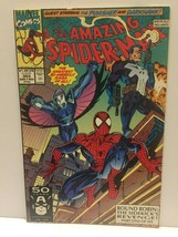 1991 Marvel Amazing Spider-Man #353 Comic Book with Punisher - $2.95