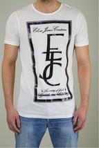ELVIS & JESUS Entity FAITH Embroidered INITIAL White SHIRT EJC Print & B... - $79.97