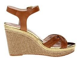 Womens Shoes Vince Camuto TADETA 2 Espadrille Wedge Sandals Beachwood Tan - $67.49