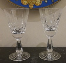 Waterford Crystal Rosslare Pattern 1 White Wine and 1 Port Wine Stemware - $40.00