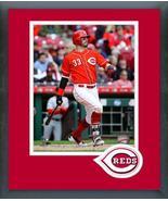 Jesse Winker 2018 Cincinnati Reds -11x14 Team Logo Matted/Framed Photo - $43.55