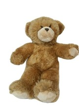"Build A Bear 16"" Teddy Bear Tan with Beige Snout - $11.56"
