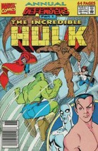 The Incredible Hulk Annual #18 Newsstand Cover (1976-1994) Marvel Comics - $12.19